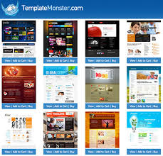 Web Templates Monster  طراحی وب اورجینال