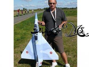جنگنده الکتریکی ( داکت فن ) مدل MIRAG 2000